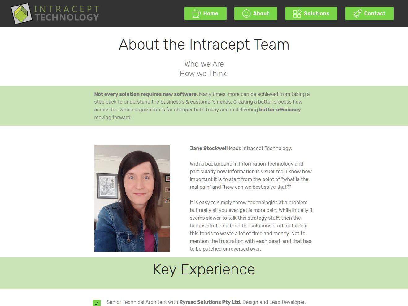 Intracept Website