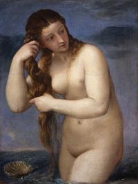Titian - Venus Anadyomene