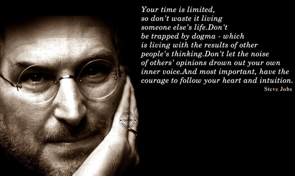 Steve Jobs Courage